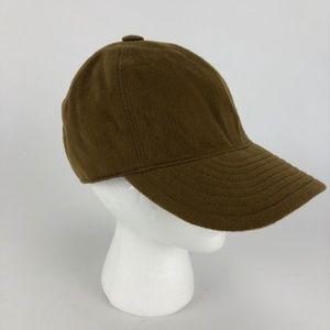 Borsalino Accessories - Borsalino Cashmere Baseball Cap - Camel Brown 7.5